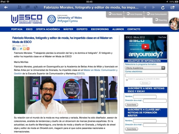 Entrevista Fabrizzio Morales Angulo