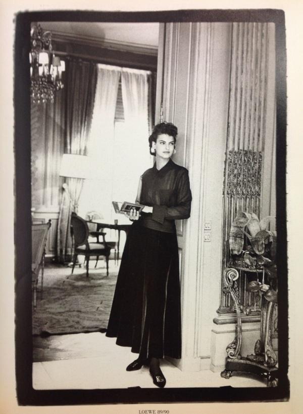 Linda Evangelista Loewe 1989